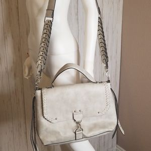 Steve Madden Gray Faux Leather Purse